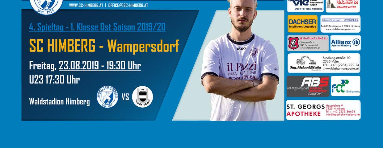 Nächstes Spiel gegen Wampersdorf!